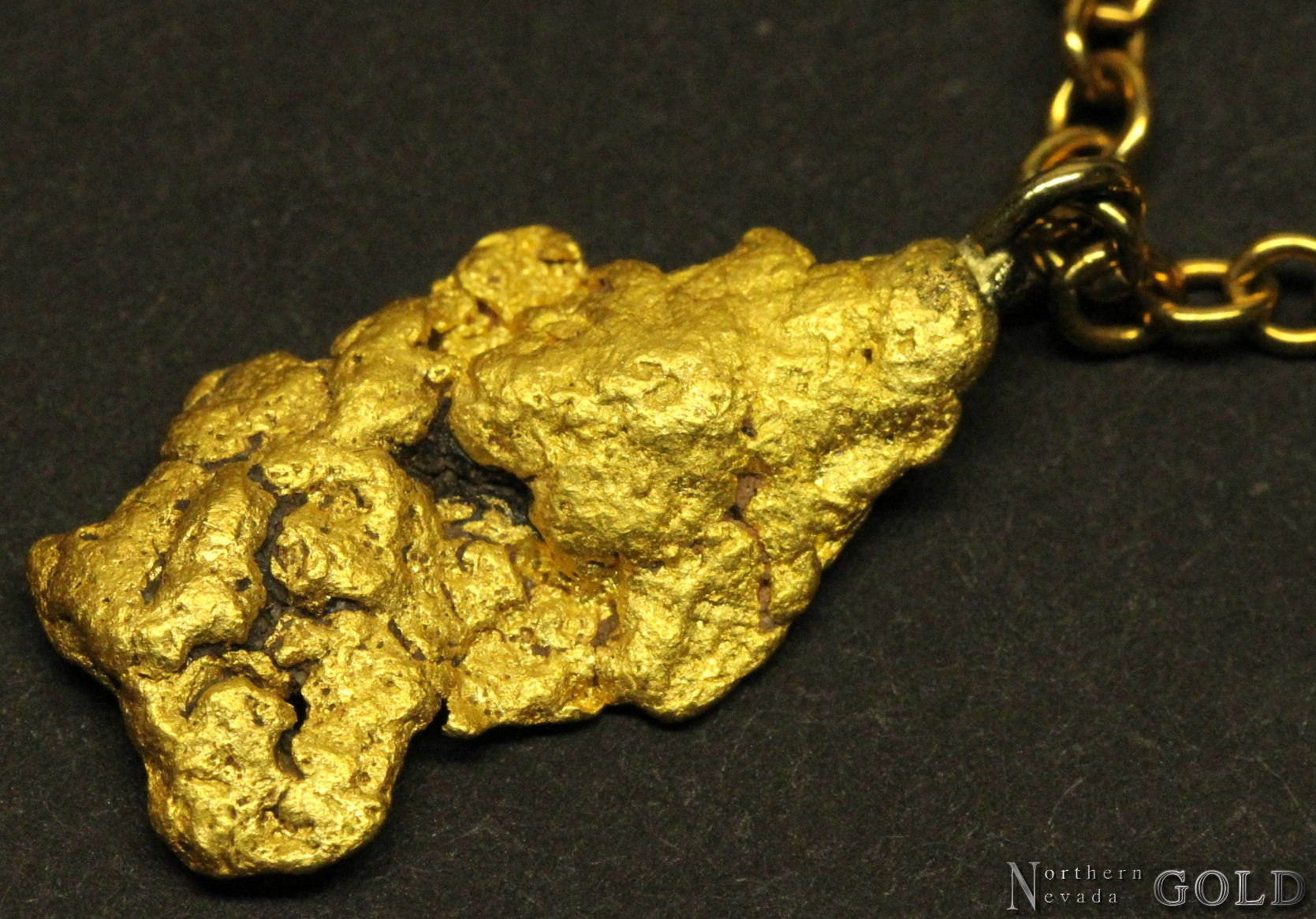 Gold Nugget Jewelry 3598j